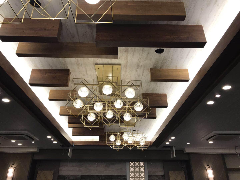 Custom Lighting for Hotel Lobby