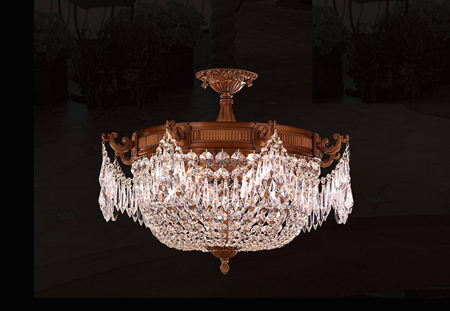 Antique Style Ceiling Light- KY Y1074FG60