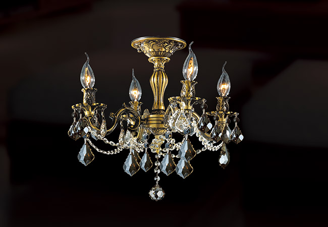Antique Ceiling Chandelier - KY Y1086B43