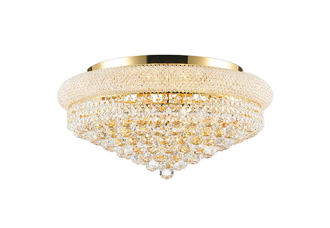 Gold Crystal Ceiling Light - KY Y3010