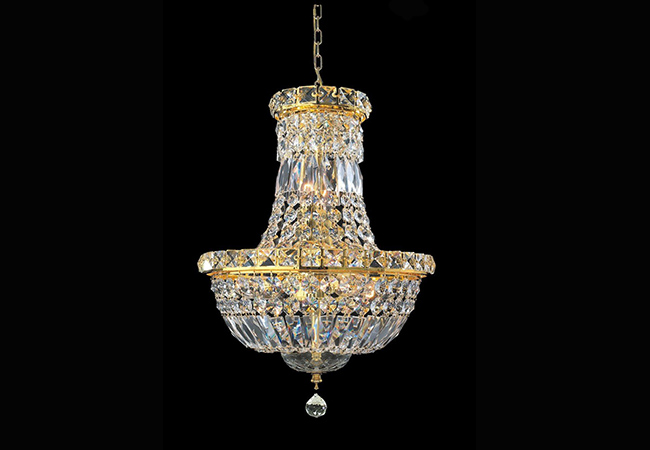 Small Crystal Pendant Light- KY Y3048G30