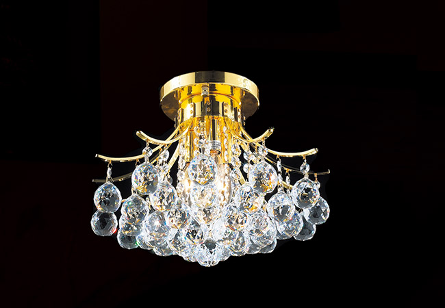 Elegant Ceiling Light with Crystal - KY Y3060G40