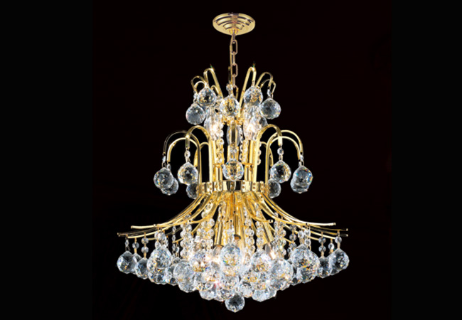 Elegant Crystal Pendant Light- KY Y3063G48
