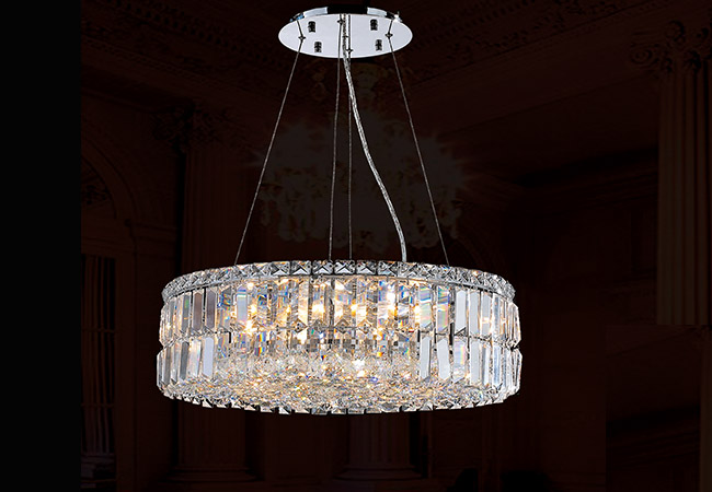 Round Crystal Pendant Lights- KY Y3075C50
