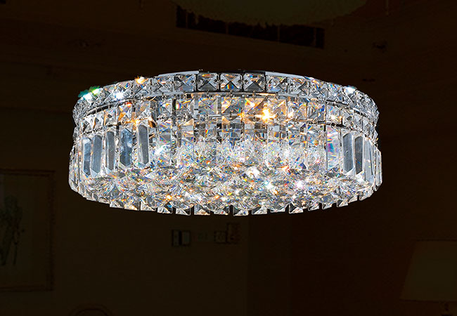 Modern Crystal Ceiling Light - KY Y3087C40