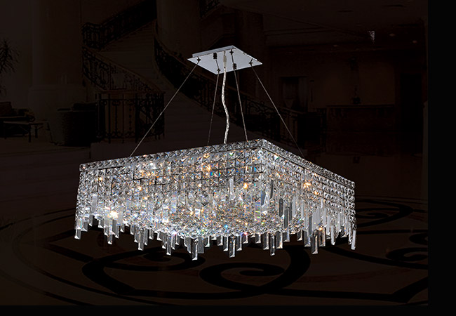 Modern Crystal Pendant Light- KY Y3100C60