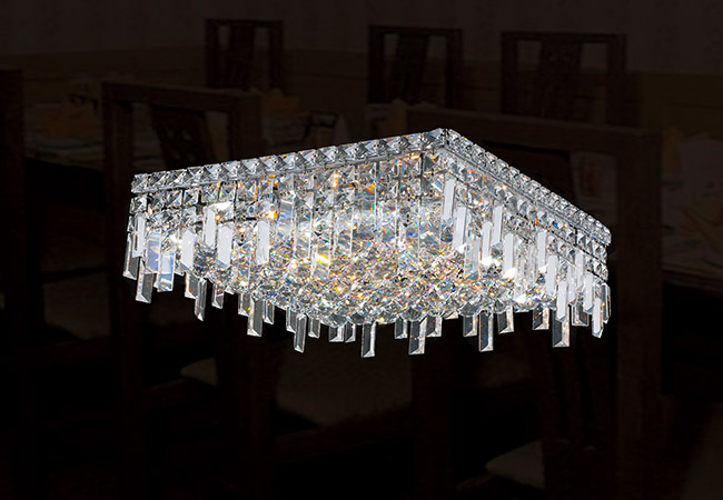 Crystal Ceiling Light Fixture - KY Y3110C40