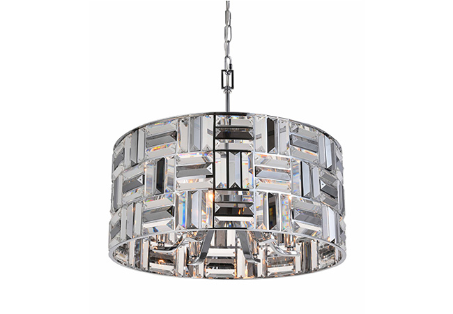 Round Crystal Pendant Light- KY Y3980