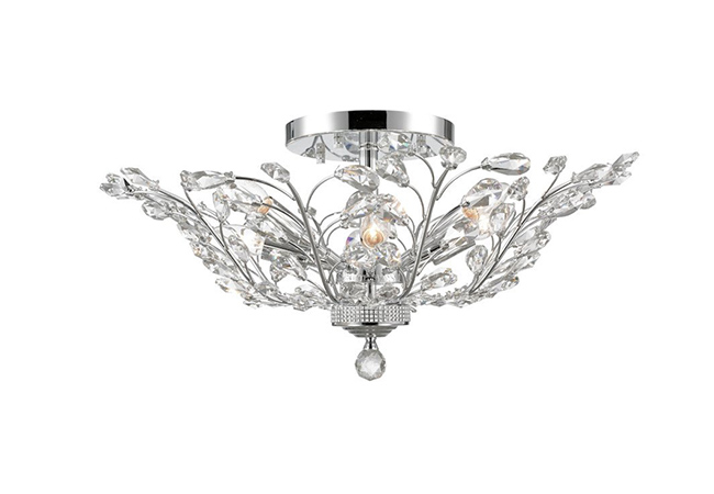 Contemporary Crystal Ceiling Lamp- KY Y6014C50