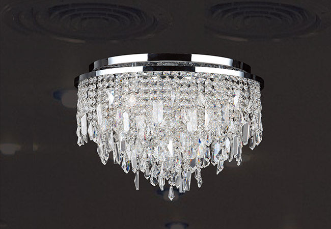 Modern Crystal Ceiling Lamp - KY Y6087C40