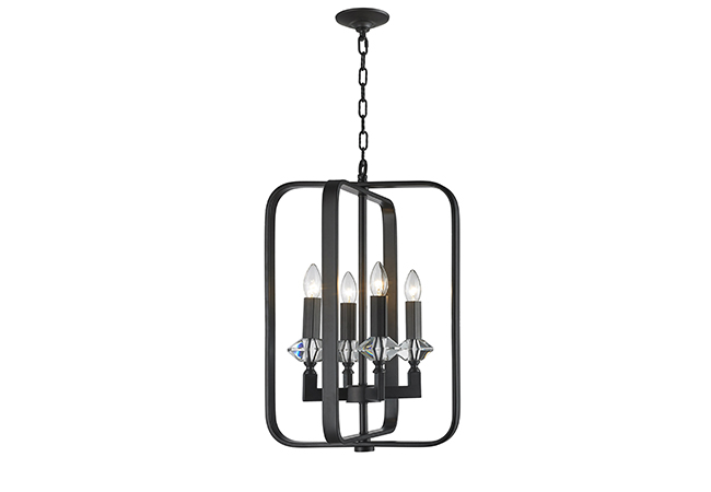 Black Modern Pendant Light- KY Y6241B