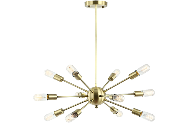 Contemporary Pendant Lamp - KY Y8802-12L