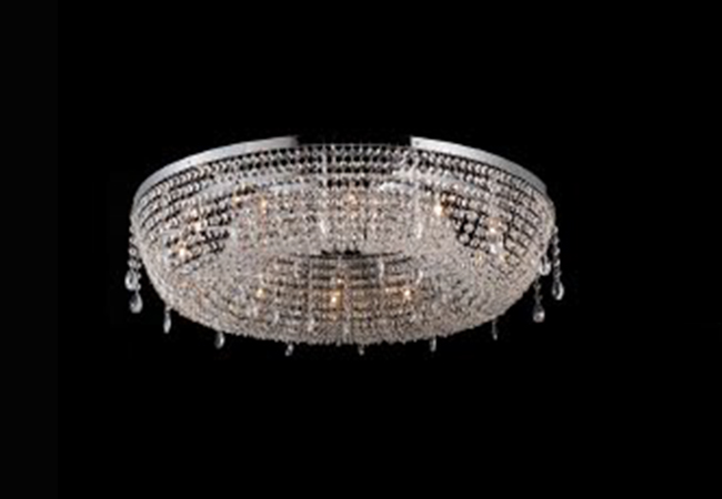 Hotel Flush Mount Crystal Ceiling Light - KY291