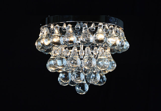 Small Crystal Ceiling Light - KY7120C