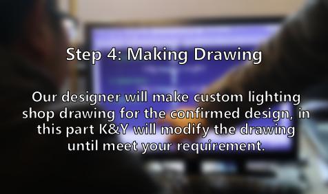 Making custom lighting drawing