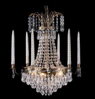 scandinavian chandelier