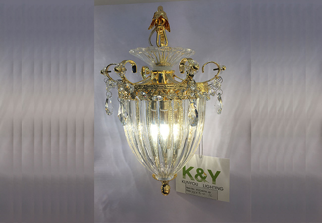 Crystal Wall Sconce - KY C4074-W
