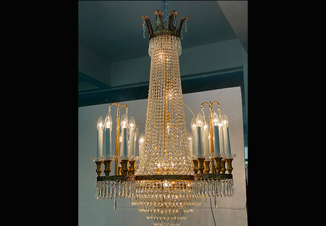 Custom Lighting- Decorative Pendant Light - KY Y1301AG90