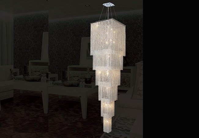 Custom Lighting Fixture-Bespoke Pendant Lighting-KY Y3196C40