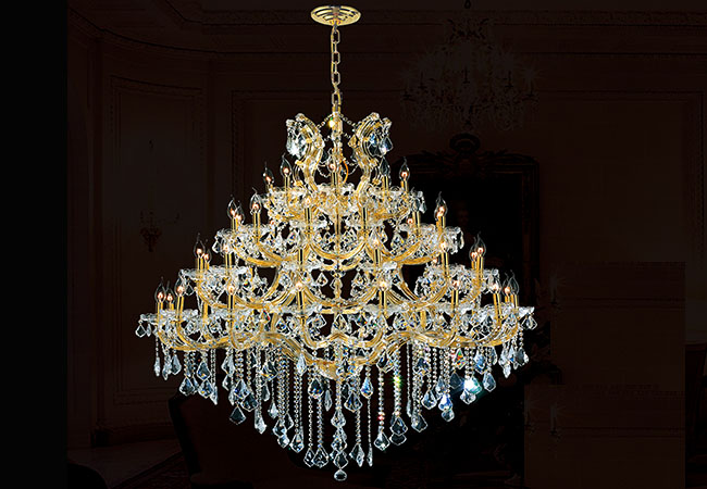Large Candle Chandelier