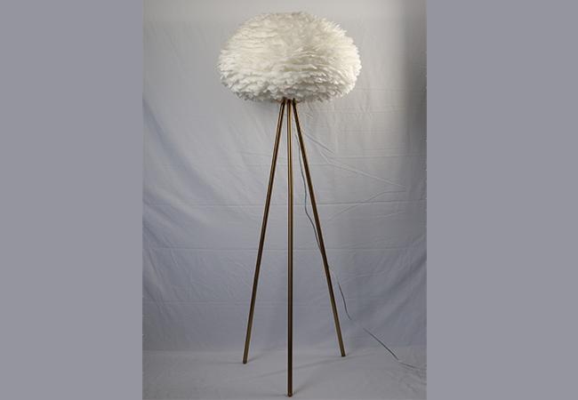 Creative Feather Floor Lamp-KY Y8015FL