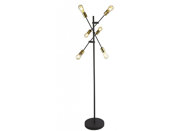 Black Modern Floor Lamp - KY Y8040FL