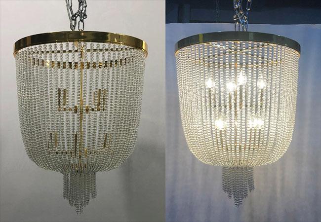 Decorative Pendant Light-KY Y6623-D46xH70cm