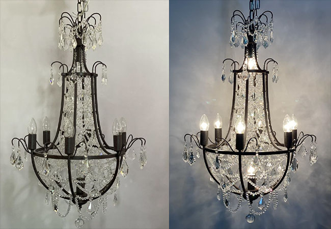 Event Chandelier-KY Y6624-D58xH86cm