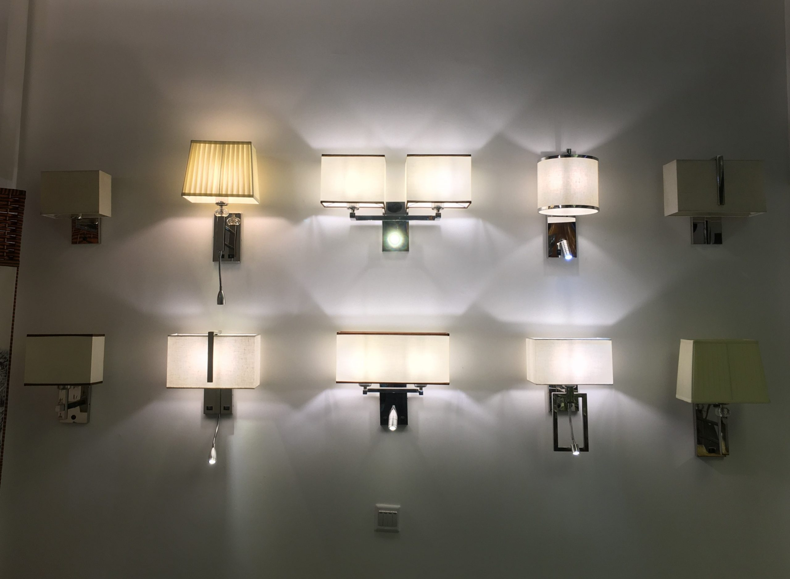 Hotel Wall Sconces