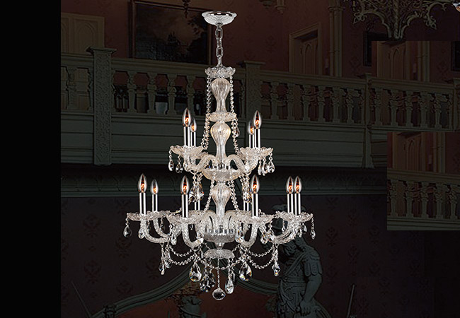 Glass Chandelier- Event Chandelier- KY Y4015