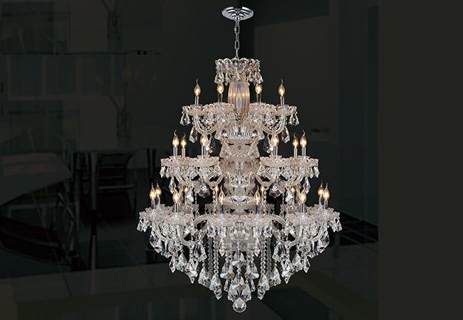 Glass Chandelier-Large Chandelier- KY Y4075C106