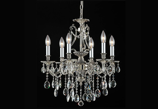 Luxury Chandelier-KY Y1210-6L-D60xH68cm