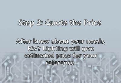 Qutoe the custom ligthing price