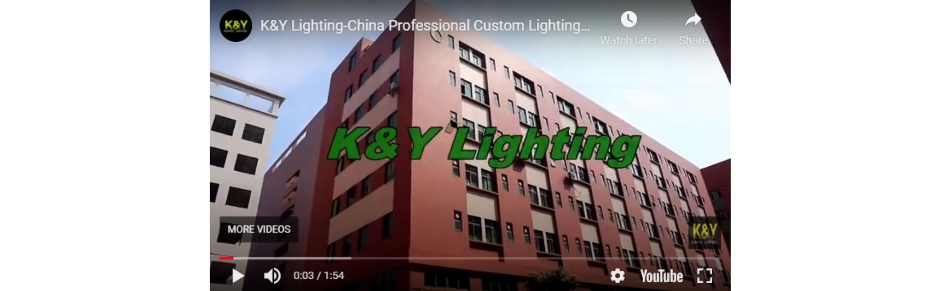 K&Y Lighting-Custom Lighting Mnufacturer